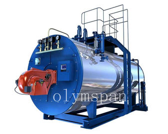 China High Pressure Gas Fired Steam Boiler , 1 Ton Atomized Steel Steam Gas Boiler factory