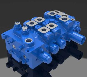 China Multi - way Directional Hydraulic Valve 4 DP20GL-2 for Cranes factory