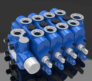 China Engineering Multi Way Hydraulic Directional Control Valve 4GCJX-G12L factory