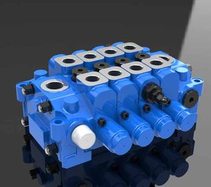 China Hydraulic Multi Directional Control Valve 4GCJX-G18L for Engineering factory