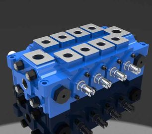 China Multiple Hydraulic Combined Directional Control Valve DL for Engineering factory