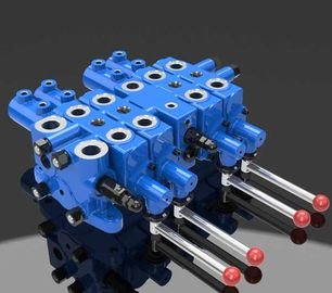 China Mining Hydraulic Check Multi Directional Control Valve DLYS factory