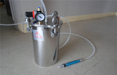 China High Capacity Carbon Steel Dispensing Pressure Vessel Tank For Conductive Adhesive factory