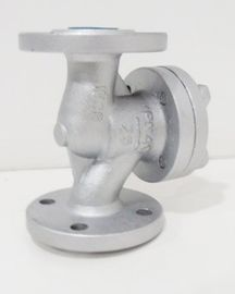 China Two Way Automatic Pneumatic?Control?Valve With Flange Stainless Steel factory