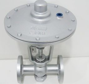 China Steel two ports Pneumatic Diaphragm Control Valve For petroleum / metallurgy / electricity factory