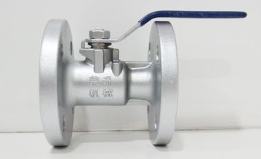 China 0.35MPa 40mm SS High Temperature Ball Valves For Water Steam / Oil Pipelines factory