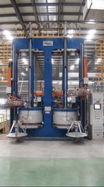 China Vertical Hydraulic Tire Curing Press Dual Mode , High Precision factory