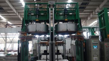 China Fully Automatic PLC Hydraulic Tyre Curing Press Vertical , Dual Mode factory