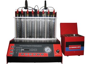 China Fuel Injector Testing Machine WDF-8F with separate ultrasonic bath factory