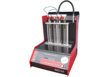 China Automatic injector Tester WDF-4F with Observation Windows, fuel injector tester factory