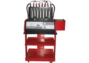 China 8 Cylinders Fuel Injectors Tester and Cleaner System WDF-8H (with manual drain valve) factory