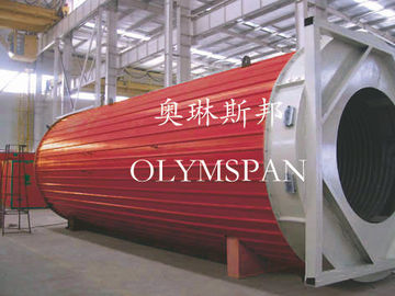 China Horizontal Heating Thermal Oil Boiler Electric For Wood , Safe Monitor Device factory