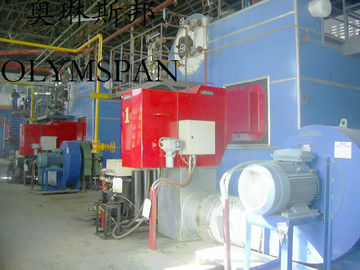 China Low Pressure Horizontal Heating Thermal Gas Oil Fired Boiler , High Temperature factory