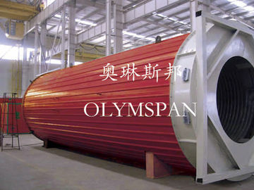 China Hot Oil Fired Horizontal Thermal Oil Boiler High Efficiency For Plastic / Rubber factory