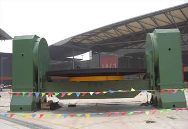 China Fixed Head Tail Rotary Welding Positioner 30 Tons Working table Revolving  360 Degree factory