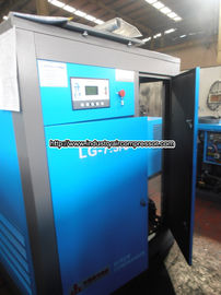 China 37kw  stationary double screw direct driven air compressor  6.2m3   5.6m3  10 bar factory
