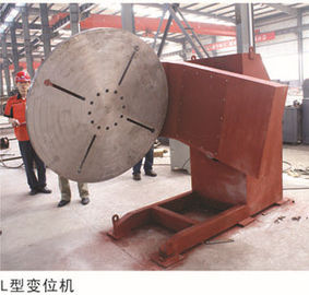 China LRT600 Kilogram L Type Tilting Rolling  Welding Positioner  VFD Control Speed Variable factory
