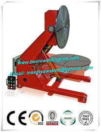 China Electronic Rotation Pipe Weld Positioners , Hydraulic Lifting Tilting Positioner factory