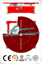 China Welding Turntable 0.05rpm - 0.5rpm Pipe Weld Positioner , Tank Flange Welding Machine factory