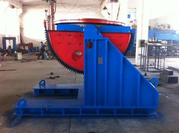 China Two Big Semicircle Gears 5 Tons Welding  Positioner VFD Change Rolling Speed factory