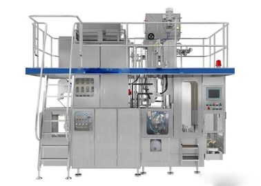 China 250ml Aseptic Brick Carton Beverage Filling Line , Mango Juice Filling Machine factory