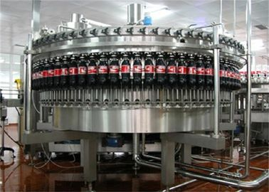 China High Speed Carbonated Drink Production Line Soft Drinks Bottling Plant for Cola / Sprite 6000BPH factory