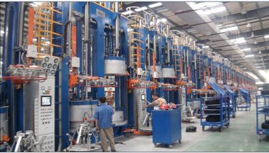 China Automatic tyre vulcanizing machine , Inner Tube Curing Press factory