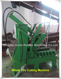 China Whole Waste Tyre Cutting Machine Tyre Cutter factory