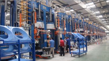 China Installation Simple Temperature Control Curing Press Machine factory