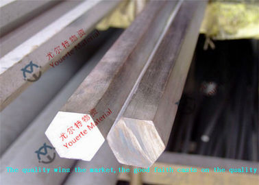 China Duplex Black UNS S32760 Stainless Steel Round Bars , Boiler Hot Rolled Steel Bar factory