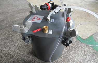 China 5L stainless steel Dispensing Pressure Vessel tank with piston factory