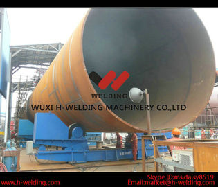 China Pressure Vessel Automatic Conventional Pipe Welding Rotator with PU Roller 10 Ton factory