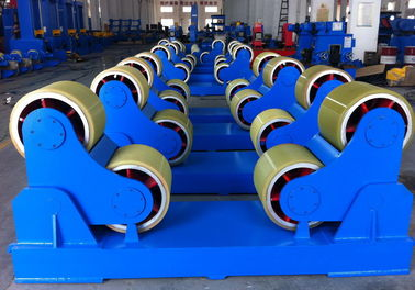 China 60 Tons Self-aligned Pressure Vessel Tank Welding Turning Rolls With Full Pu Wheels factory