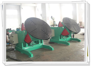 China 1200kg Foot Pedal Control Rotary Welding Turning Table For Pipe Elbow Welding factory