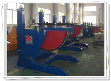 China Tilting Rotary Rotary Welding Positioners 1200kg Height Adjustable With Slewing Bearing factory