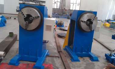 China Electric Rotary Weld Positioners , Adjustable Height Welding Turning Table factory