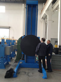 China Lifting Rotary Welding Positioners With High Efficiency For Metal Welding factory