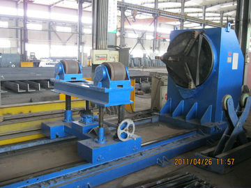 China 10T Head and Tail Stocks Rotary Welding Positioners With MIG , TIG , SAW welding factory
