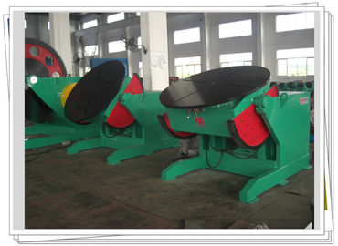 China Automatic Tilting Rotary Welding Turning Table With Gun Support For Irregular Job factory