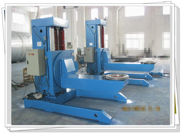 China 2ton Special Welding Positioner Blue For Elbow Flange Shaft factory