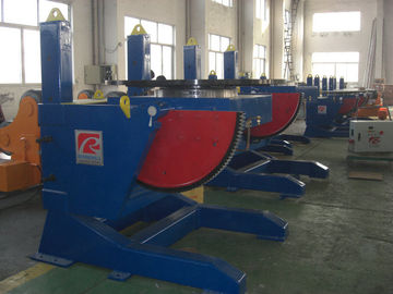 China Standard Hydraulic Pipe Welding Positioner , Elevating Rotary Welding Turning Table factory