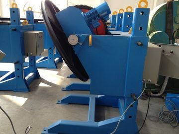 China Standard Hydraulic Pipe Weld Positioners , Steel Fabrication Rotary Welding Table factory