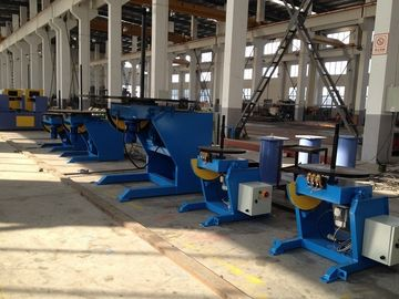 China 20 Ton Welding Positioner , Height Adjustable Rotating Tilting VFD Weld Positioners factory