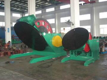 China Automatic height adjustable welding positioner / Elevating positioning rotating machine factory