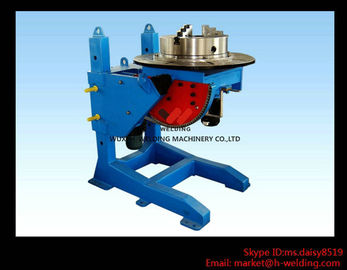 China Lifting Height Adjustable Pipe Welding Rotary Positioner High Precision 300kg Manual Revolve factory