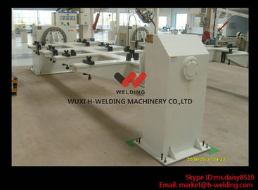China Marine Building Welding Rotary Table / Welding Turntable Round or Custom Shape factory
