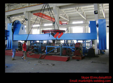China Head / Tail Welding Equipment Welding Positioner for Tilting and Rotation 600kg Load factory