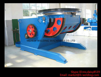 China Tank / Vessel Auto Welding Positioners VFD Control Self Adjustable Table With Foot Switch factory