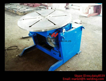 China High Precision Pipe Welding Positioners With Turning / Revolve Table HB30 3000KG factory