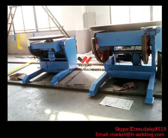 China Self-Adjustable Pipe Welding Positioner Vessel Loading 8 Ton T-slots For Clamping factory